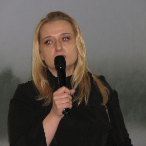 Klementyna Sobieraj, przedstawiciel firmy Cersanit. Studio Dobrych Rozwiązań w Olsztynie - 14 marca 2018 r. Fot. Publikator