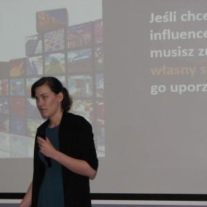 Agata Makowska, Stroer Digital Media. Studio Dobrych Rozwiązań w Olsztynie - 14 marca 2018 r. Fot. Publikator