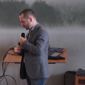 Dominik Kołoś, area manager marki Lako. Studio Dobrych Rozwiązań w Olsztynie - 14 marca 2018 r. Fot. Publikator