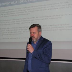 Przemysław Kapczuk, SFA Poland. Studio Dobrych Rozwiązań w Olsztynie - 14 marca 2018 r. Fot. Publikator