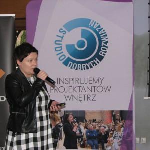 Justyna Łotowska, dyrektor wydawnicza, Publikator. Studio Dobrych Rozwiązań w Olsztynie - 14 marca 2018 r. Fot. Publikator