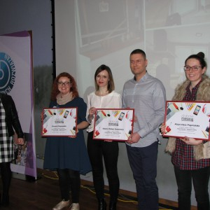Wręczenie nagród w konkursie Dobrze Mieszkaj -Najlepsze Projekty. Studio Dobrych Rozwiązań w Olsztynie - 14 marca 2018 r. Fot. Publikator