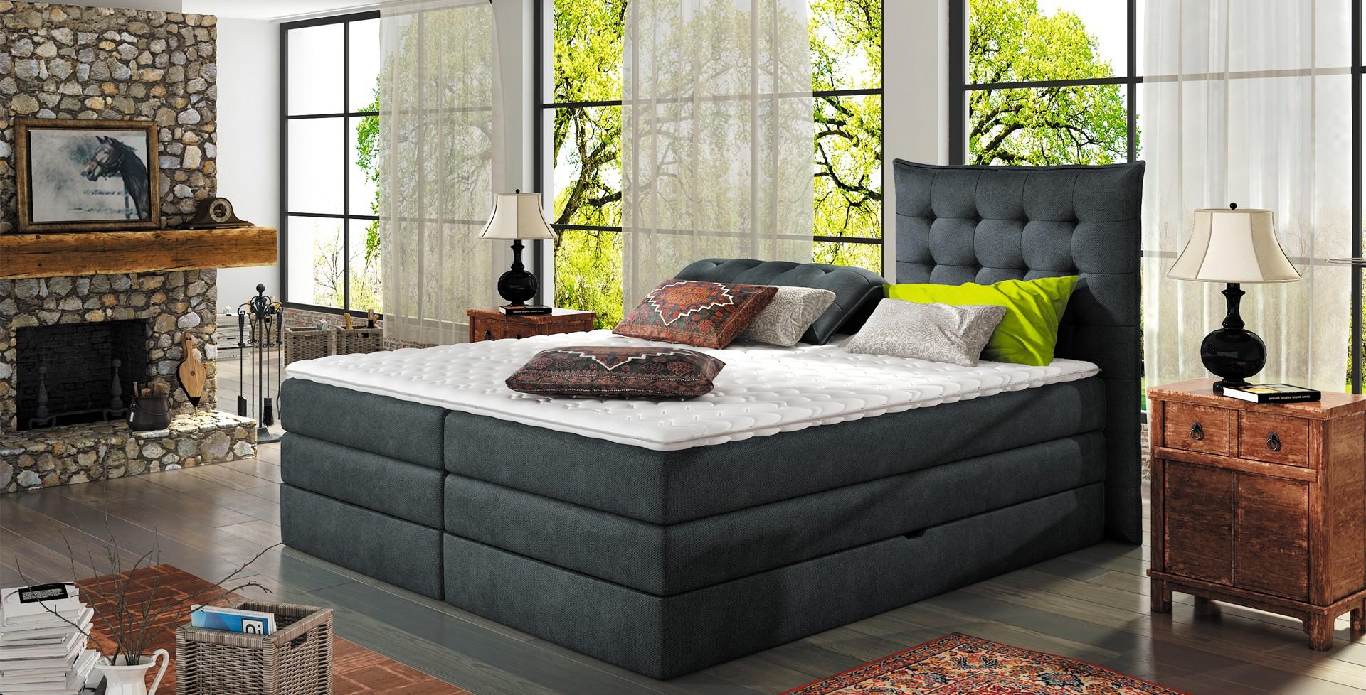 Łóżko Aura firmy Wersal. Fot. Wersal
