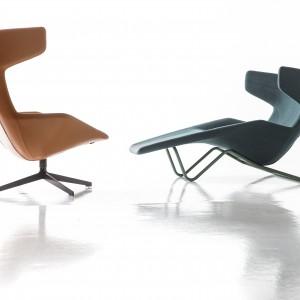Fotele-uszaki w nowoczesnym wydaniu. Fot. Moroso