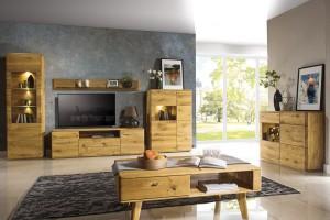 Meble z litego drewna - zobacz propozycje do salonu i jadalni!