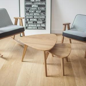 Drewniane meble w stylu retro. Fot. 366 concept