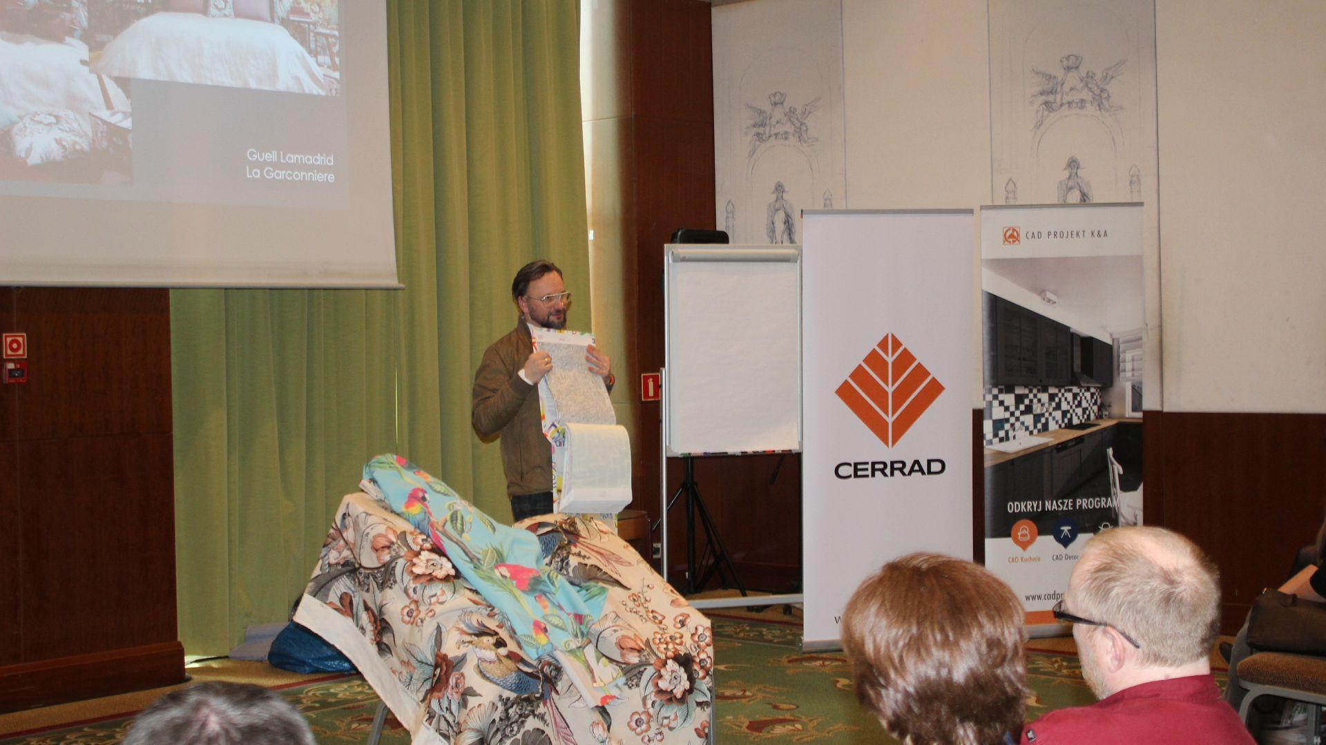 Gość specjalny: Artur Indyka, projektant wnętrz, prowadzący program Meblokreacje na antenie Domo+. Fot. Publikator