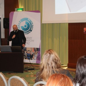 Prezentacja partnera: Michał Pietrucha, firma WSC. Fot. Publikator