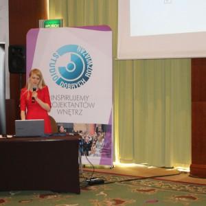 Prezentacja partnera: Małgorzata Kubaszewska, firma CAD Projekt K&A. Fot. Publikator