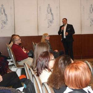 Prezentacja partnera Krzysztof Kopyczyński, specjalista ds. kontaktów z architektami, firma FinishParkiet