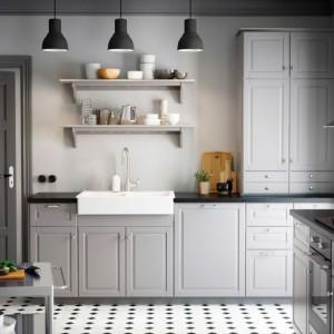 Kuchnia zaprojektowana w stylu prowansalskim marki IKEA. Fot. IKEA