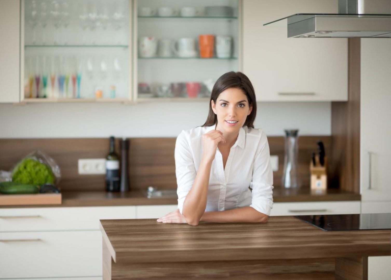 Kiedy urządzamy swoją wymarzoną kuchnię, musimy zadbać o to, aby  była nie tylko piękna, ale i funkcjonalna. Fot. Pfleiderer