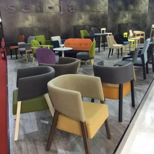 Stoisko firmy Sed-Ja na iSaloni 2016