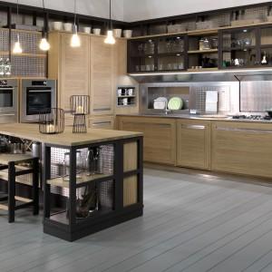 Kuchnia Roveretto w klimacie loftowym. Fot. Lottocento