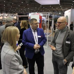 Maurizio Burrato był gościem Arena Design. Fot. Interprint