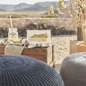 Pufy Sandared. Fot. Materiały prasowe IKEA