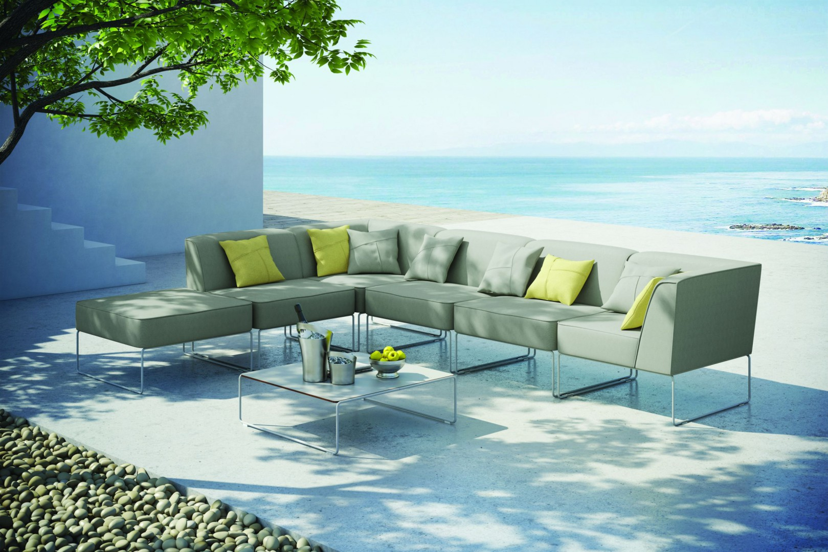 Sofa outdoorowa z kolekcji Dias firmy Miloo Home. Fot. Miloo Home
