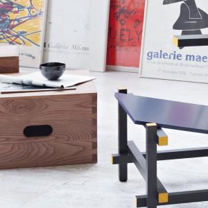 Siedziska LC 14 firmy Cassina. Projekt: Le Corbusier. Fot. Cassina