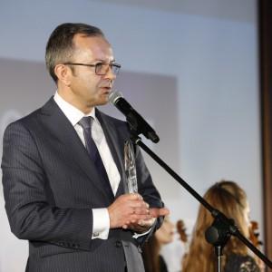 """Nagrodę """"Global Success Leader"""" odebrał Adam Krzanowski, Prezes Zarządu Grupy Nowy Styl. Fot. Executive Club"""