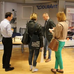 Stoisko marki Duravit. Studio Dobrych Rozwiązań - 11 kwietnia 2018, Bielsko-Biała. Fot. Publikator