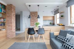 Jak urządzić kuchnię otwartą - porada architekta