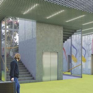 Centrum Aktywności Lokalnej, Podjuchy. Projekt: Tomasz Sachanowicz.