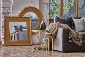 Meble do salonu - wraca moda na złocone elementy i dodatki!