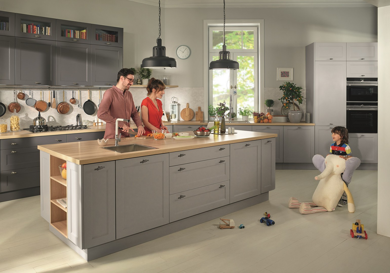 Kuchnia Z Serii Senso Kitchens Firmy Black Red White Fot