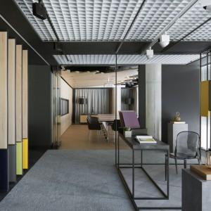 Kronospan Design Center - showroom firmy Kronospanw Warszawie, w budynku Cosmopolitan. Fot. Yassen Hristov/Homepics