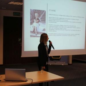 Prezentacja eksperta Ewy Linert Studio Dobrych Rozwiązań, 11.04 Bielsko-Biała. Fot. Wojciech Napora