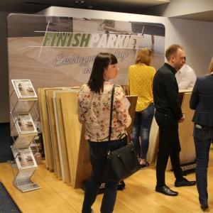 Stoisko marki Finishparkiet. Studio Dobrych Rozwiązań, 11.04 Bielsko-Biała. Fot. Wojciech Napora
