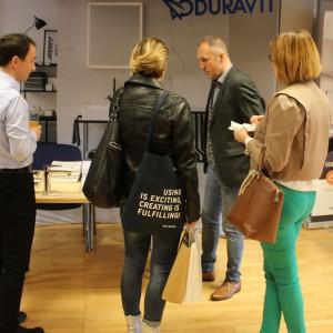 Stoisko marki Duravit. Studio Dobrych Rozwiązań, 11.04 Bielsko-Biała. Fot. Wojciech Napora