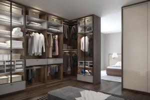 Meble do garderoby - drzwi przesuwne i uchylne w jednym