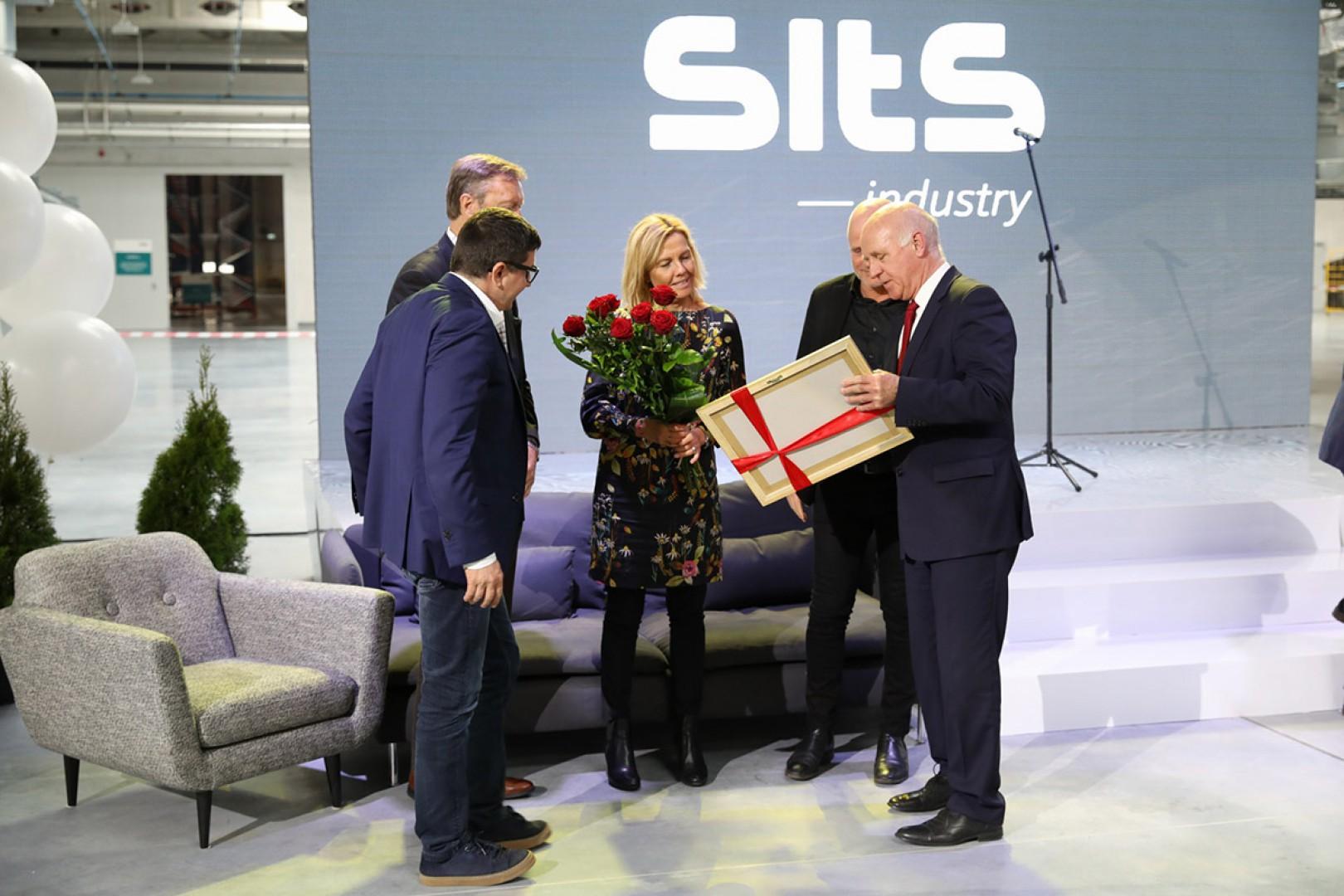 10 kwietnia 2018 roku odbyło się uroczyste otwarcie nowego zakładu - Sits Industry w Grudziądzu. Fot. Sits