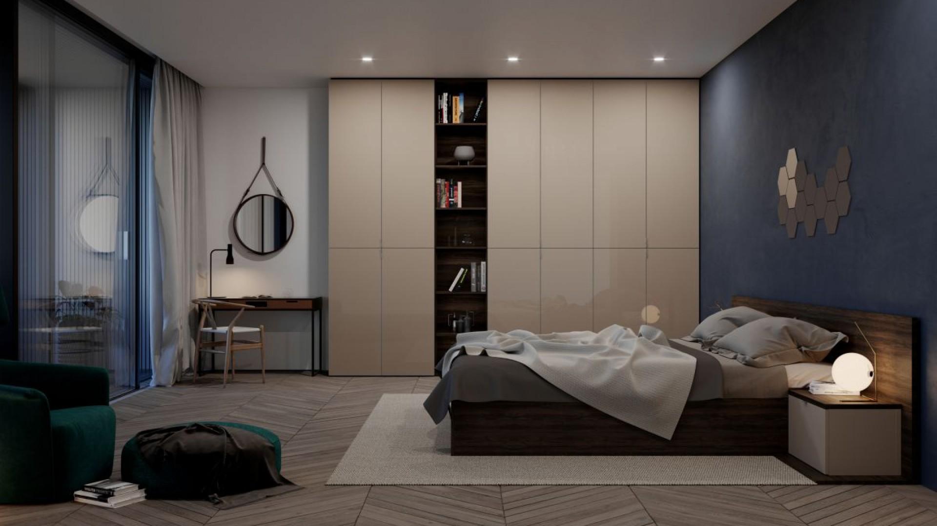 Meble do sypialni - drzwi uchylne znowu są modne