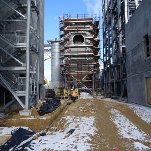 Budowa fabryki Egger w Biskupcu