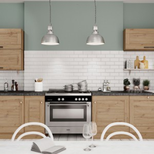 Dekor Artisan Oak w kuchni. Fot. Interprint