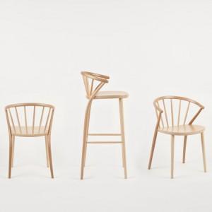 Seria krzeseł