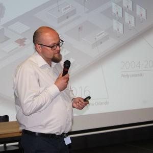 Artur Sieczka, reprezentujący markę Cerrad. Fot. Publikator