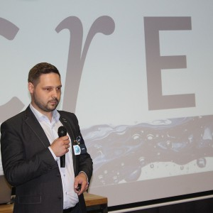 Piotr Wychowaniec, reprezentujący markę Cersanit. Fot. Publikator