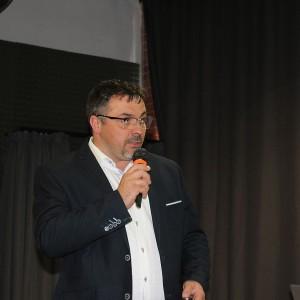 Krzysztof Kopyczyński, reprezentujący markę Finishparkiet. Fot. Publikator