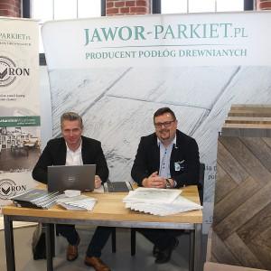 Stoisko marki Jawor-Parkiet. Fot. Publikator