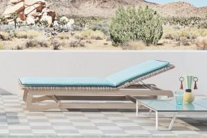 Meble ogrodowe - leżaki idealne na elegancki taras