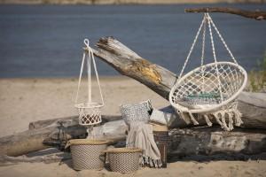 Meble ogrodowe - wiszące fotele i hamaki