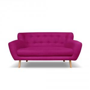 Fuksjowa sofa trzyosobowa Cosmopolitan design London, Bonami.pl