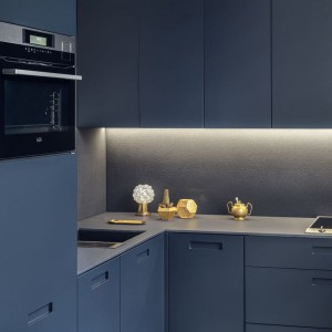 Zestaw kompaktowych mebli kuchennych marki Zajc. Fot. Zajc