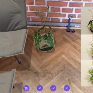 """Dzięki nowym silnikom AR – ARKit (Apple) i ARCore (Google) – aplikacja """"AR Furniture by Delivr"""" zyskała nowe możliwości. Fot. Delivr"""