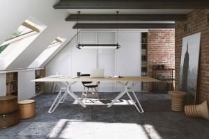 Jak umeblować domowe miejsce do pracy na poddaszu?