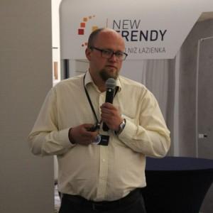 Artur Sieczka z firmy Cerrad. Fot. Publikator