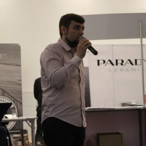 Piotr Stępniak z Ceramiki Paradyż. Fot. Publikator
